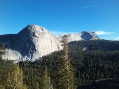 Rock Climbing Photo: Fairview Dome from Daff