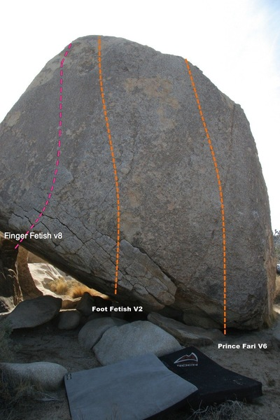 Rock Climbing Photo: leftmost line