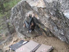 Rock Climbing Photo: kidney bean lower traverse