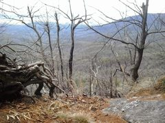 Rock Climbing Photo: Another view from the Lunch Ledge at the top of Ji...