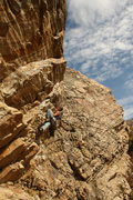 Rock Climbing Photo: somewhere near Salt Lake City (forgot the name of ...