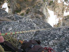 Rock Climbing Photo: P1 belay
