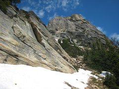 Rock Climbing Photo: Kangaroo Temple taken from the approach