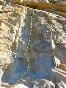 Rock Climbing Photo: Leviathan - 5.11d, Riverside Quarry