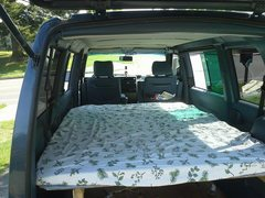 Rock Climbing Photo: Eurovan platform bed