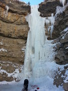 Rock Climbing Photo: Pricecicle 1/1/2015 after the only cold spell of t...