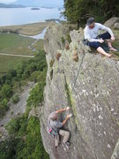 Rock Climbing Photo: Devils Wedge Shepherds Crag