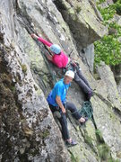 Rock Climbing Photo: Alan Hinkes .. Black Crag  Borrowdale