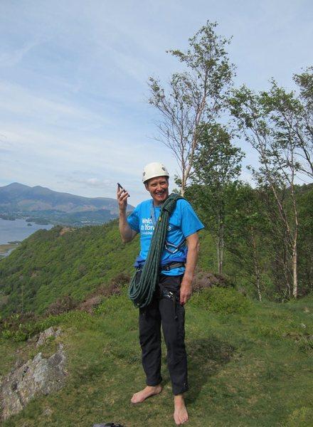 Alan Hinkes Black Crag Borrowdale
