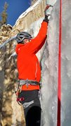 Rock Climbing Photo: Plastic Ice on Melty Way