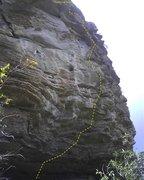 Rock Climbing Photo: Oh.