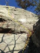 Rock Climbing Photo: Right Hand Man - Patriot Wall
