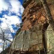 Rock Climbing Photo: No More Tiers, T Wall, TN.
