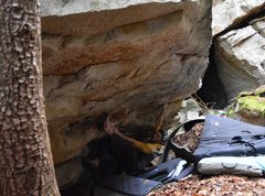 "Rock Climbing Photo: James H Conces on ""Ambi-turner Sit"""