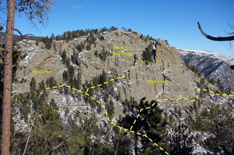 Crosier Mountain Crags.