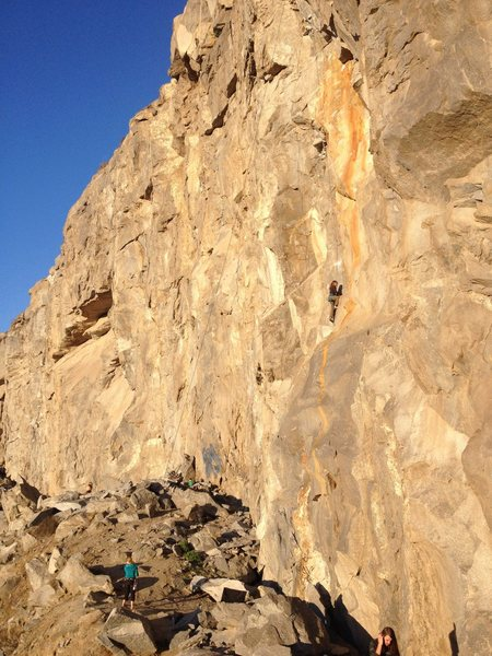 Rock Climbing Photo: Jordan Otto on Tangerine Dream 5.10d and her mom S...