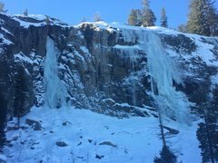 Rock Climbing Photo: Cold Stream Canyon 1/2/15