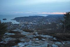 Rock Climbing Photo: La vista...