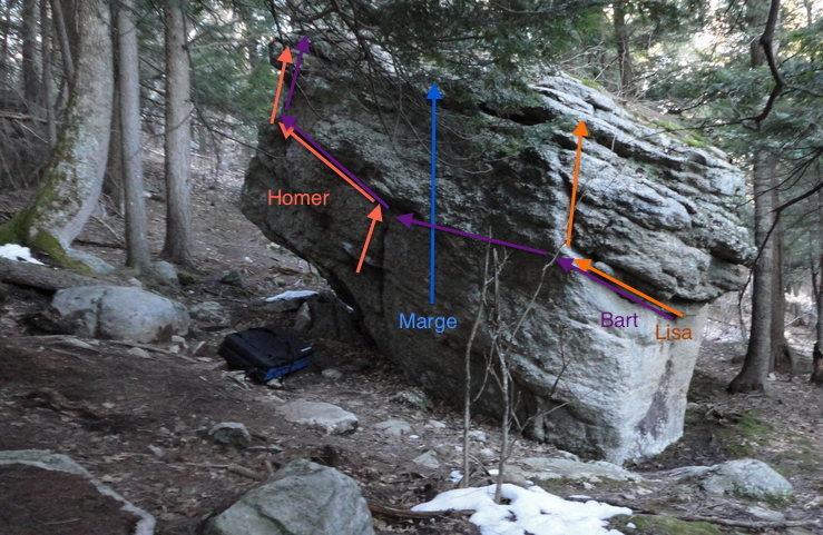 Rock Climbing Photo: Routes