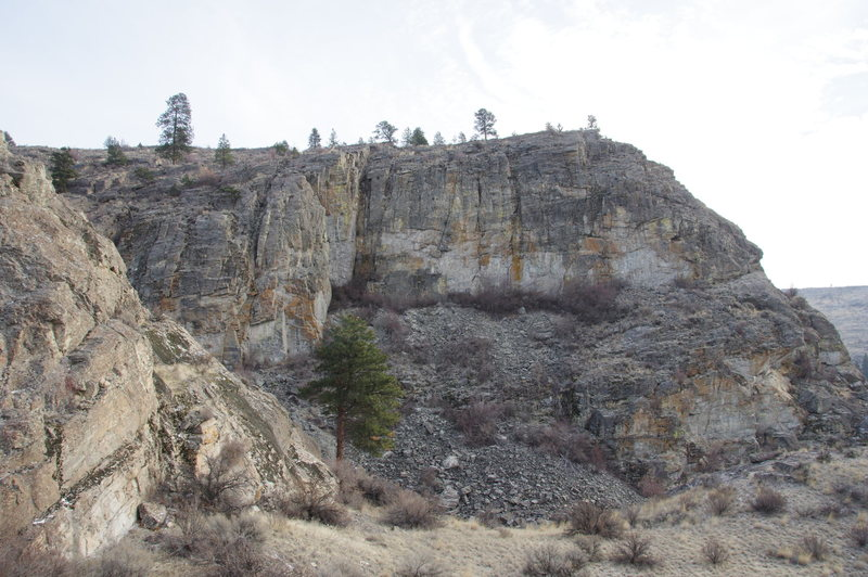 The West Face from the west