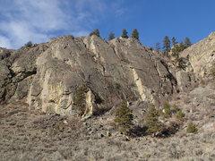 Rock Climbing Photo: North Central Slab