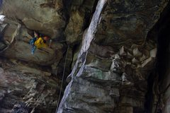 Rock Climbing Photo: Commit! Sebastian Rogers photo