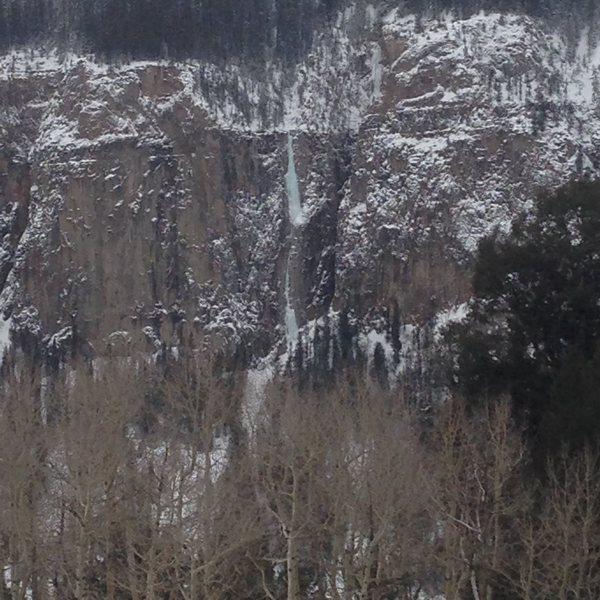 Rock Climbing Photo: Ames Ice Hose