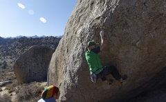 Rock Climbing Photo: Devoted Traverse V6