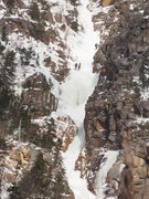 Rock Climbing Photo: Climbers above the main ice flow