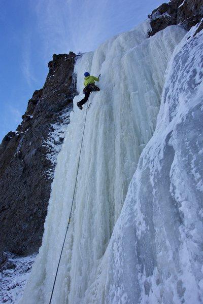 Rock Climbing Photo: Dale on Animal Rights Activist