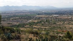 Rock Climbing Photo: Looking roughly west toward Mexico 130 from the La...