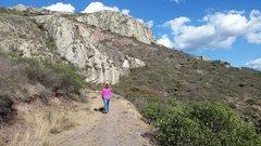 Rock Climbing Photo: Looking roughly south toward the La Colmena, Los D...