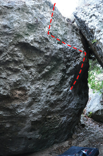 Rock Climbing Photo: pic of race against the snails