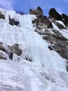 Rock Climbing Photo: Glenwood Falls