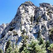 Rock Climbing Photo: Indian Buttress route, Splitter!!!!