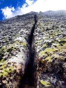 Rock Climbing Photo: Indian Butt Splitter!!!