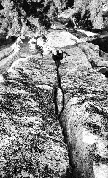 Rock Climbing Photo: P1!!!!