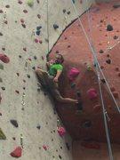 Rock Climbing Photo: My first 5.11a