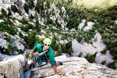 Rock Climbing Photo: Top of P2!!