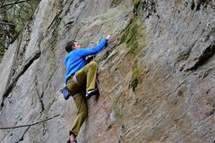Rock Climbing Photo: the guppy...11c