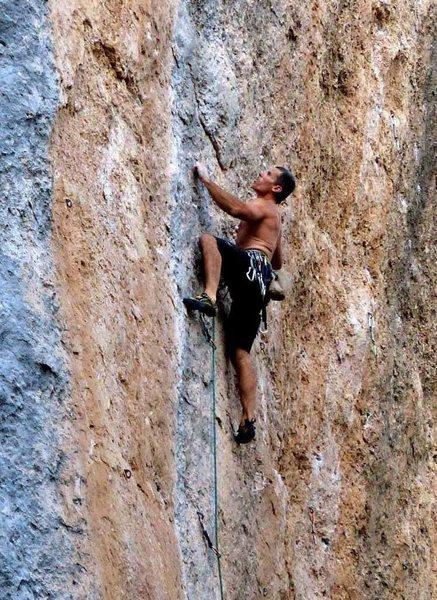 Rock Climbing Photo: Yup it's blue!