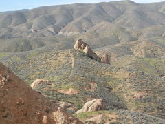 Rock Climbing Photo: The Spur from the hanging valley next to Trenchtow...