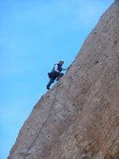 "Rock Climbing Photo: Nearing the anchor on ""Bilbo Surfs Galveston...."