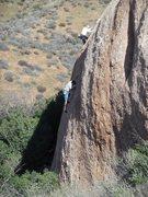"Rock Climbing Photo: Climbing at ""The Panhandle"" on a warm su..."