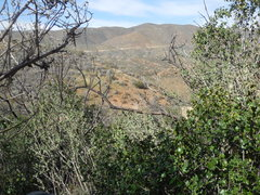 Rock Climbing Photo: Looking toward the Silver King OHV Trail from The ...