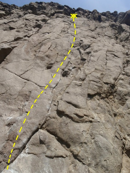 Rock Climbing Photo: Another hard, quality route at in the amphitheater...
