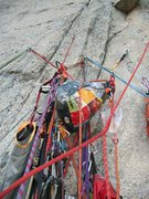 Rock Climbing Photo: hooliganism