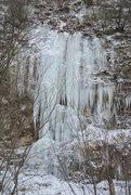 Rock Climbing Photo: Wyalusing ice 1-5-15