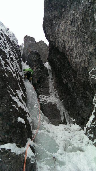 Erik leading Slippery When Wet