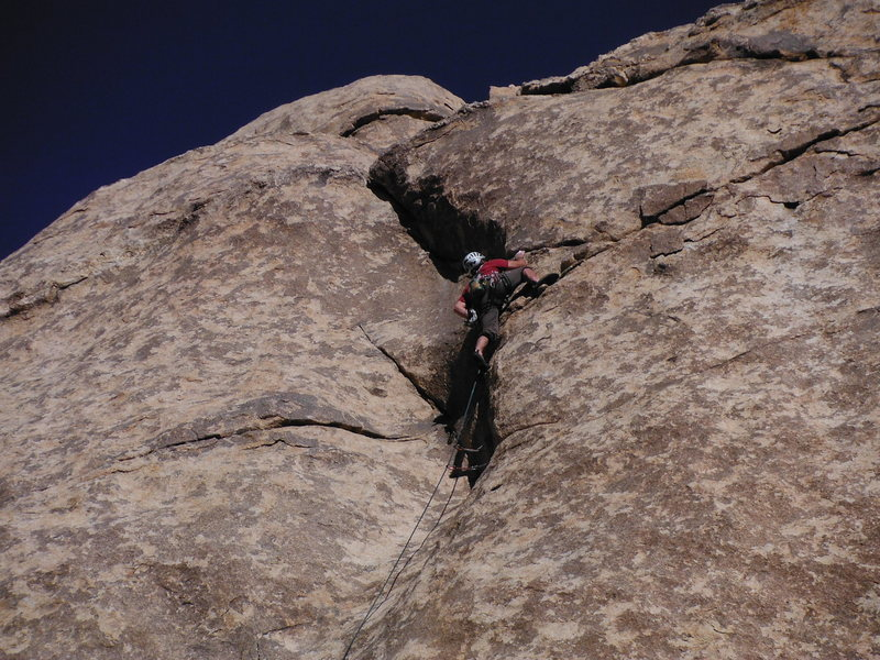 Rock Climbing Photo: Thank you to CF/DE/DB for a fantastic route.